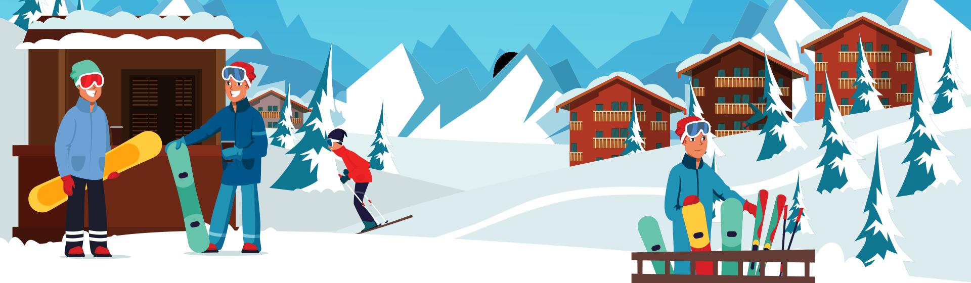 Clases de Esquí y Snowboard para Grupos