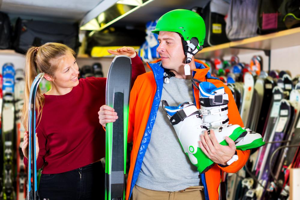 talla de los esquís