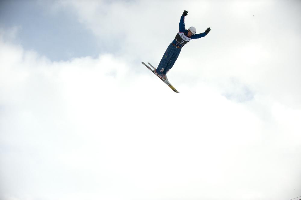 esquí aerial