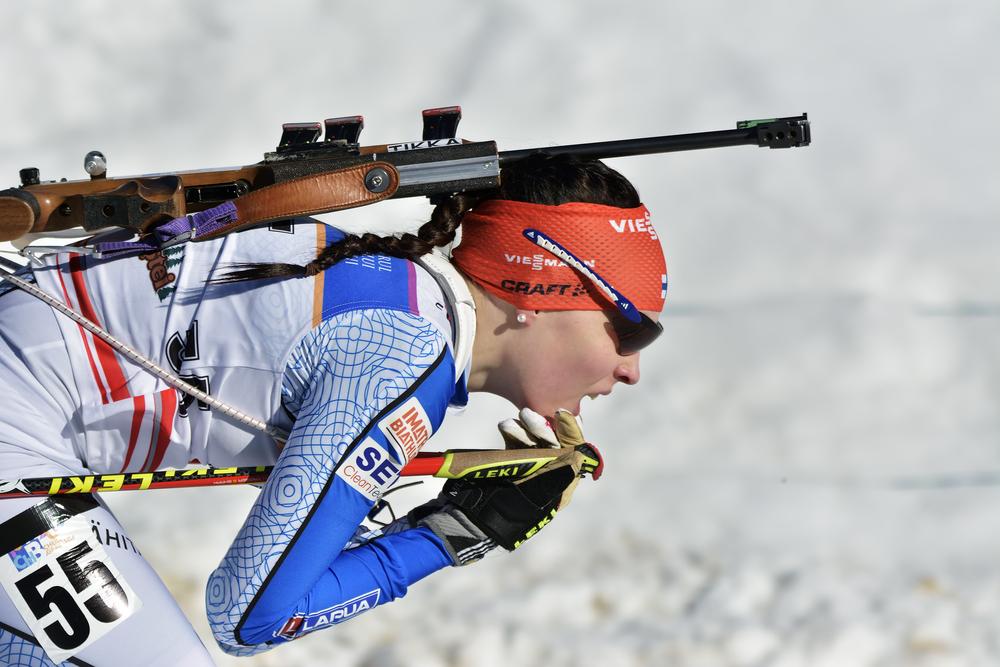 esquí nórdico biatlón