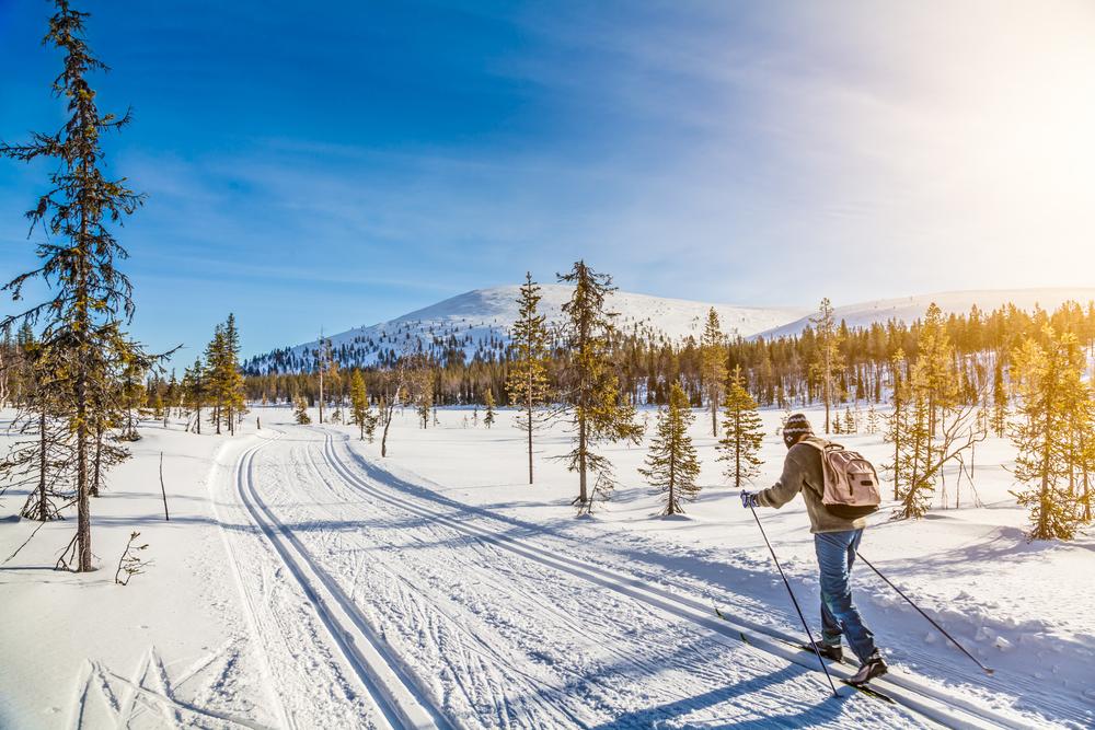 esquí nórdico clásico