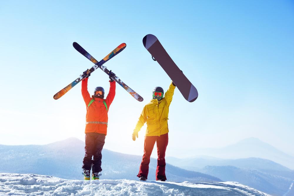 esquí o snowboard