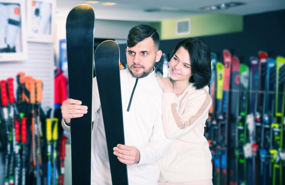 esquís cortos o largos