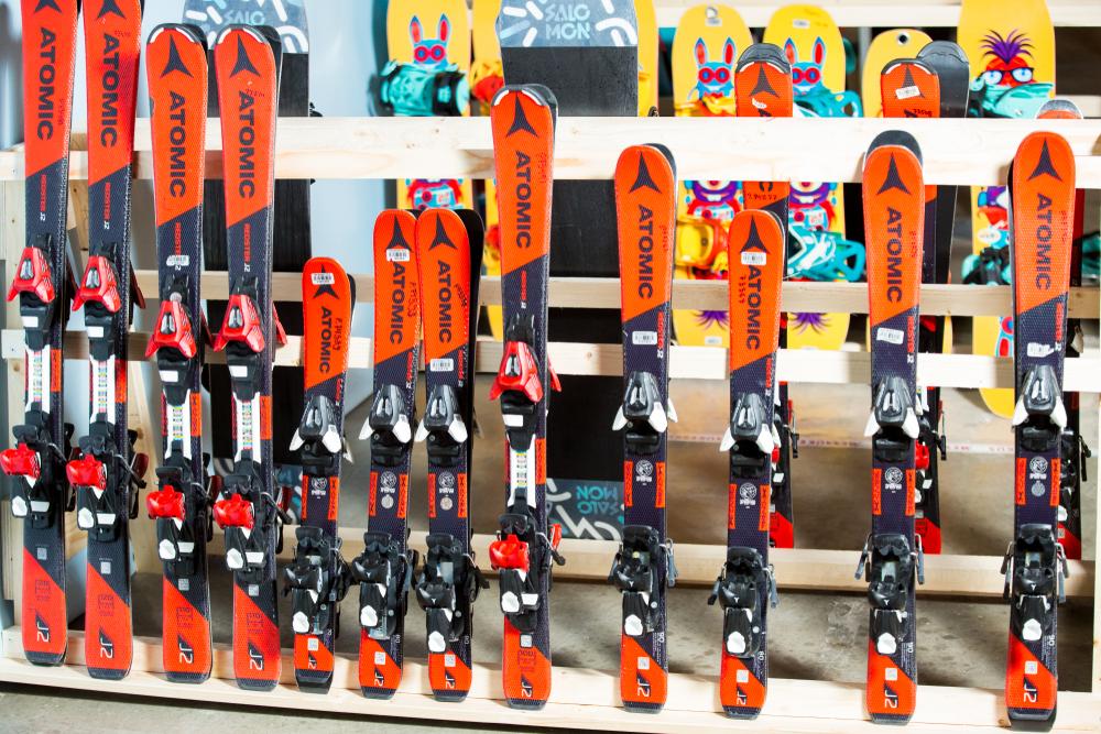esquís para niños