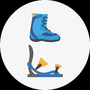 material adecuado de snowboard