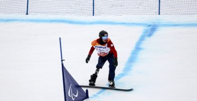 snowboard adaptado