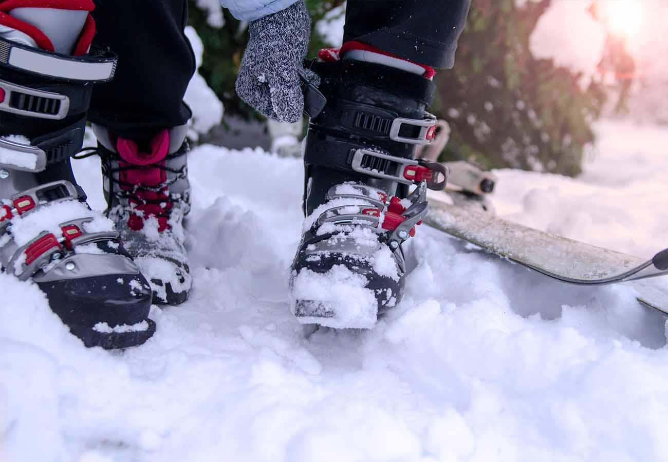 como elegir talla de botas de esqui