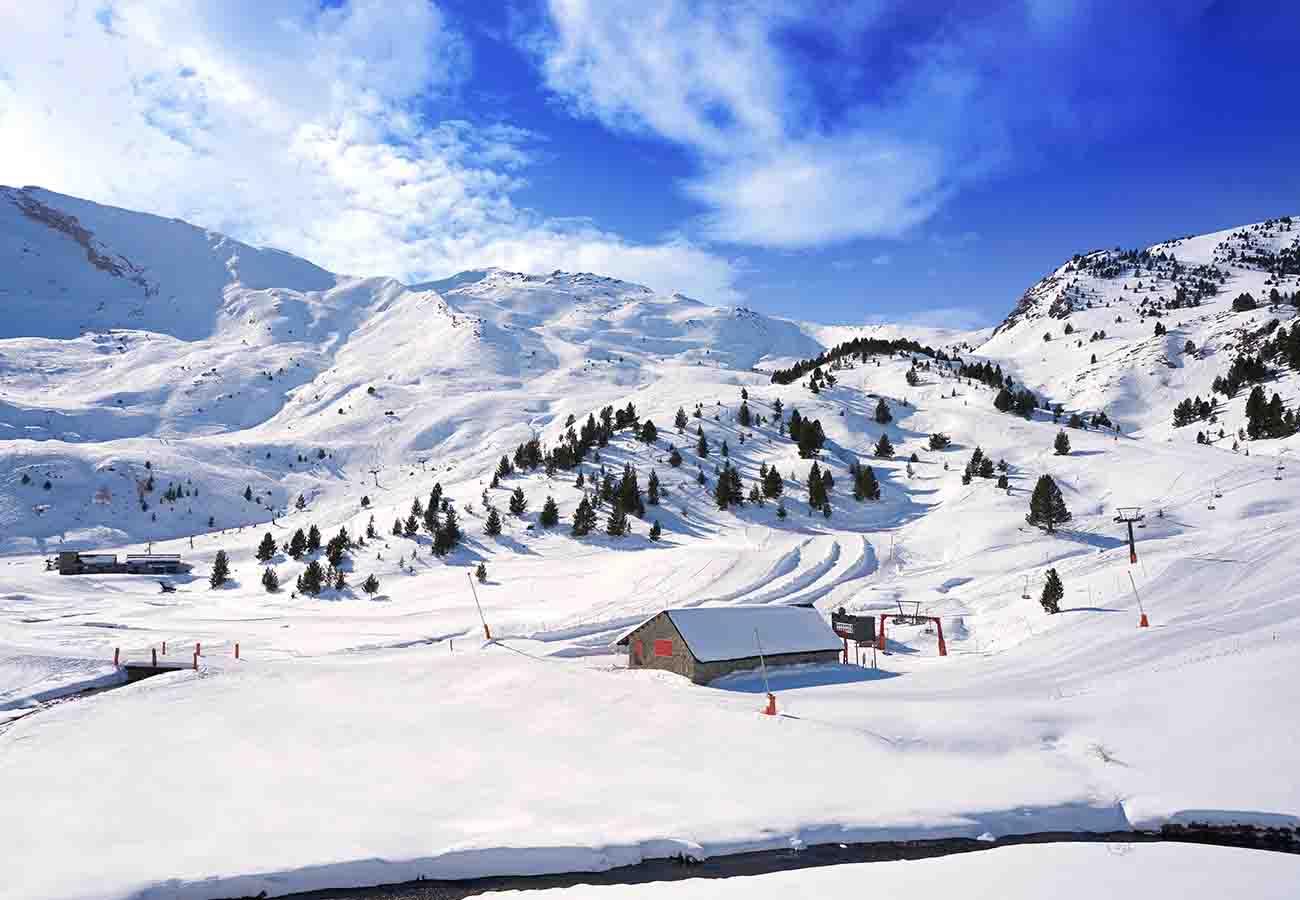 kilómetros esquiables en la pista de Cerler
