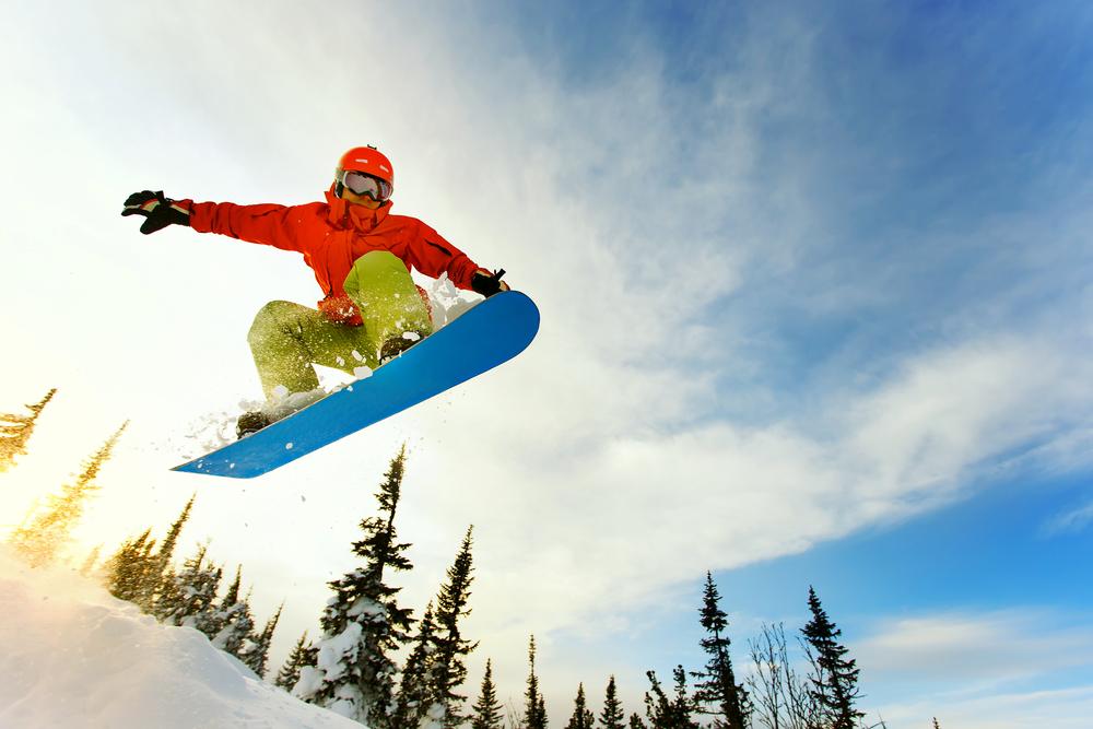 primeros aéreos snowboard