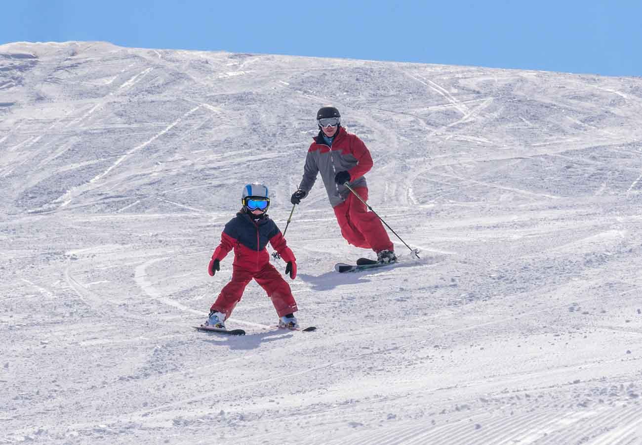 como aprender a esquiar