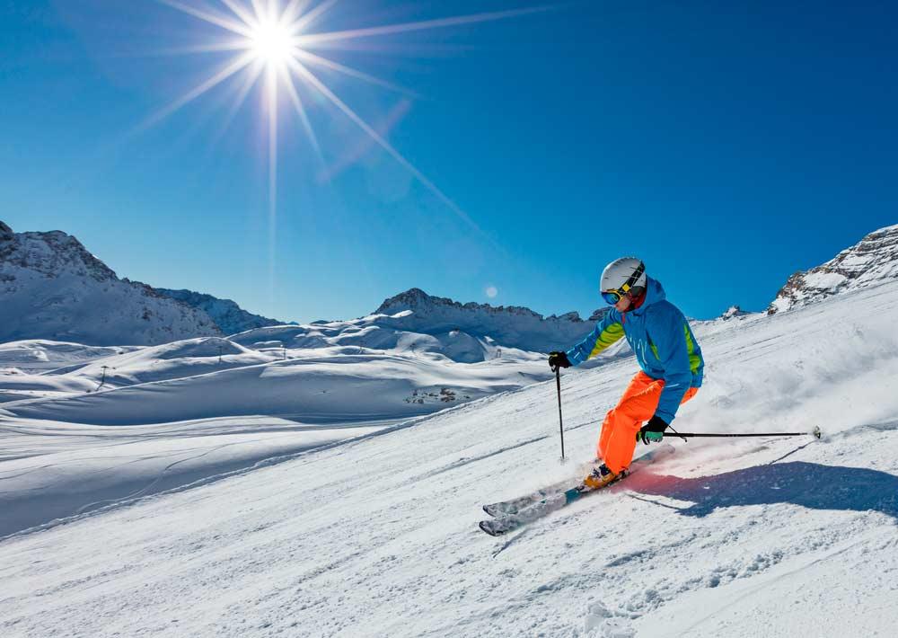 Estación de esqui Sierra Nevada
